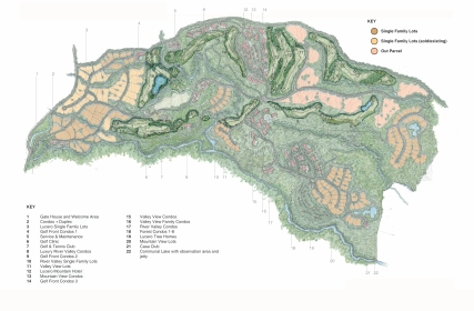 Lucero Homes & Golf Master Plan