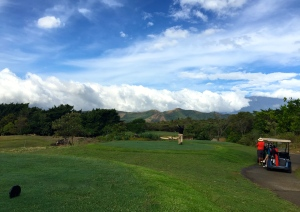 Lucero has the only bent grass course in Central America