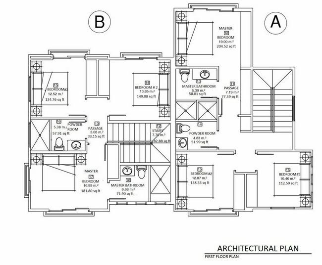 Riverside Duplex First Floor Plan Lucero Homes Golf