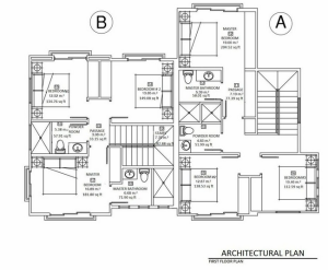 Riverside Duplex First Floor Plan