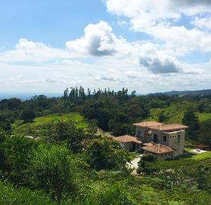 Tuscan villa view